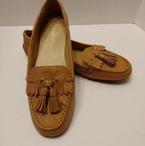 Talbots Womens Leather Loafers Size 8M, Unworn